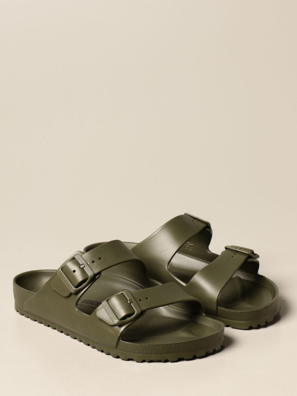 Sandali Birkenstock: Sandalo a ciabatta Arizona Birkenstock in gomma militare 2