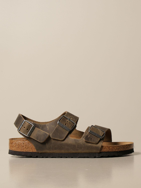Sandals Birkenstock: Shoes men Birkenstock kaki 1