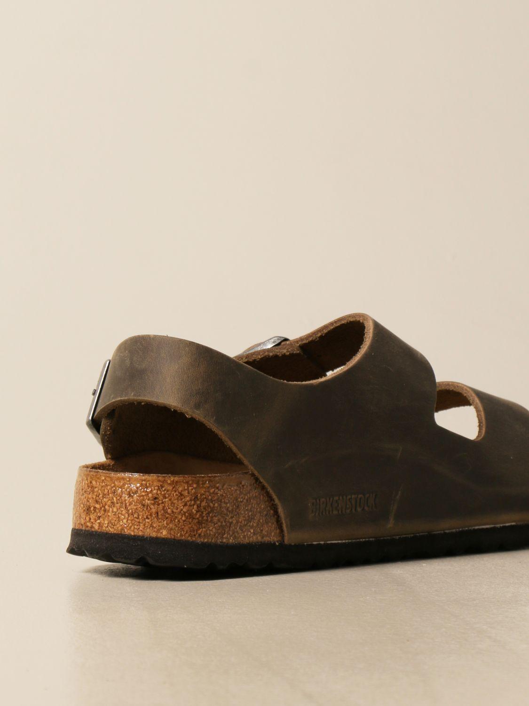 Sandals Birkenstock: Shoes men Birkenstock kaki 3