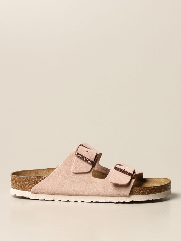 Sandales Birkenstock: Chaussures homme Birkenstock rose 1