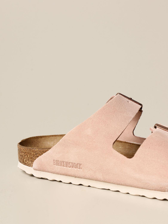 Sandales Birkenstock: Chaussures homme Birkenstock rose 4