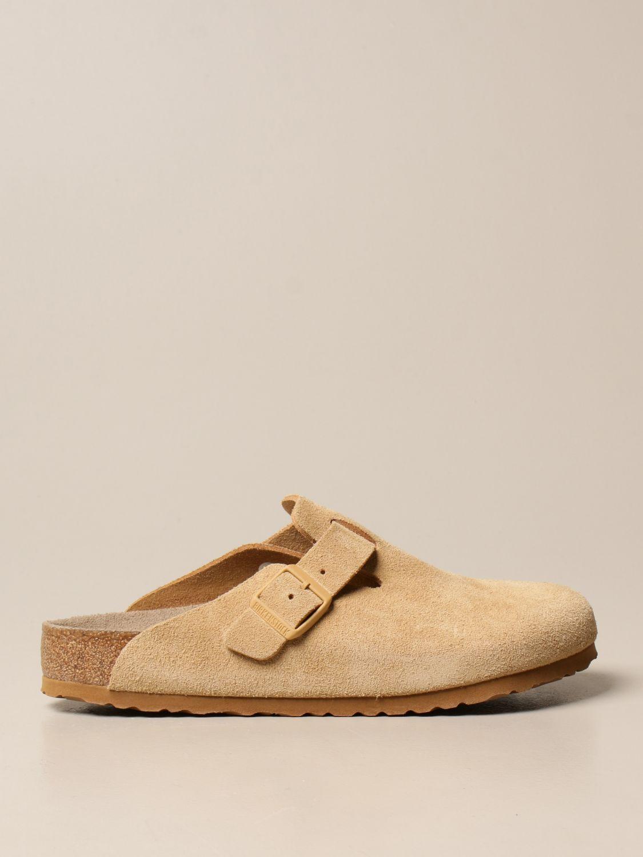 Shoes Birkenstock: Shoes men Birkenstock beige 1