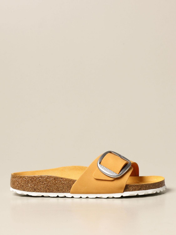 Сандалии Birkenstock: Обувь Мужское Birkenstock желтый 1