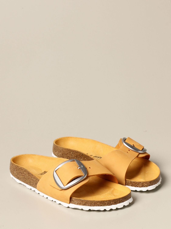 Сандалии Birkenstock: Обувь Мужское Birkenstock желтый 2