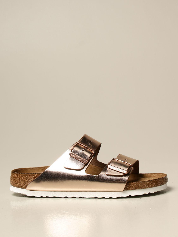Sandals Birkenstock: Shoes men Birkenstock pink 1