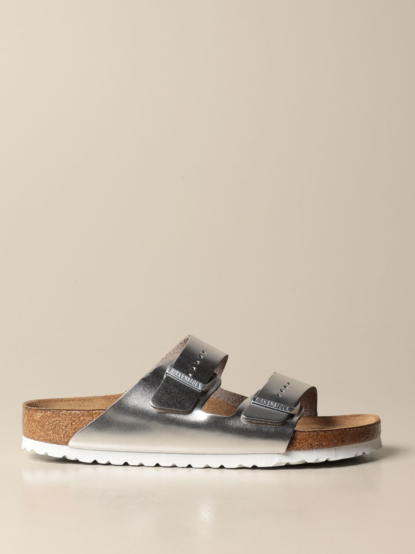 Sandales Birkenstock: Chaussures homme Birkenstock argent 1