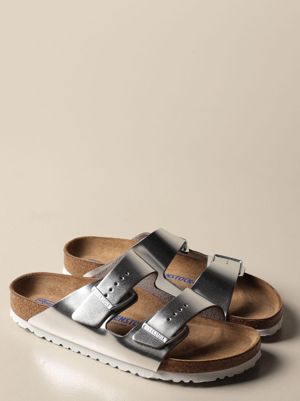 Sandales Birkenstock: Chaussures homme Birkenstock argent 2