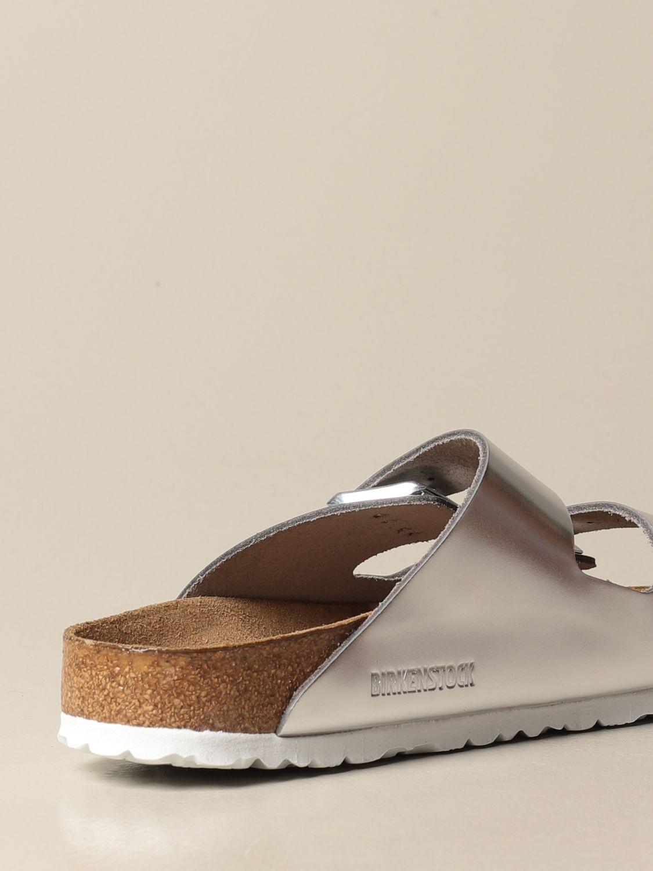 Sandales Birkenstock: Chaussures homme Birkenstock argent 3