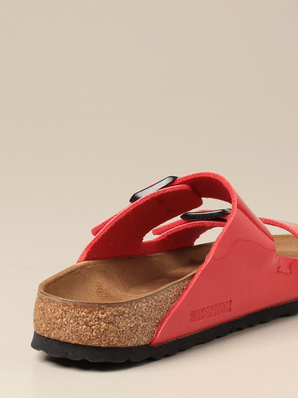 Sandals Birkenstock: Shoes men Birkenstock red 3