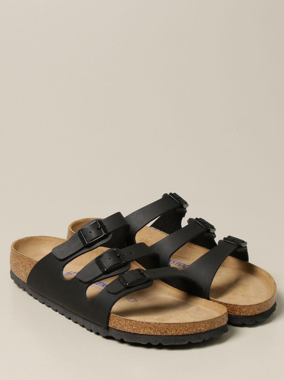 Sandali Birkenstock: Sandalo a ciabatta Florida Birkenstock nero 2