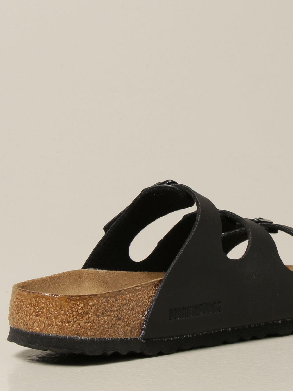 Sandali Birkenstock: Sandalo a ciabatta Florida Birkenstock nero 3
