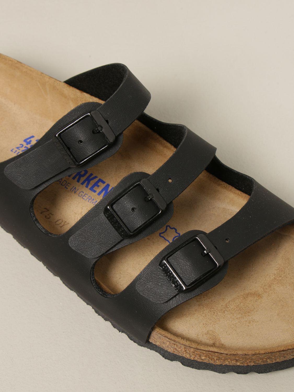 Sandali Birkenstock: Sandalo a ciabatta Florida Birkenstock nero 4