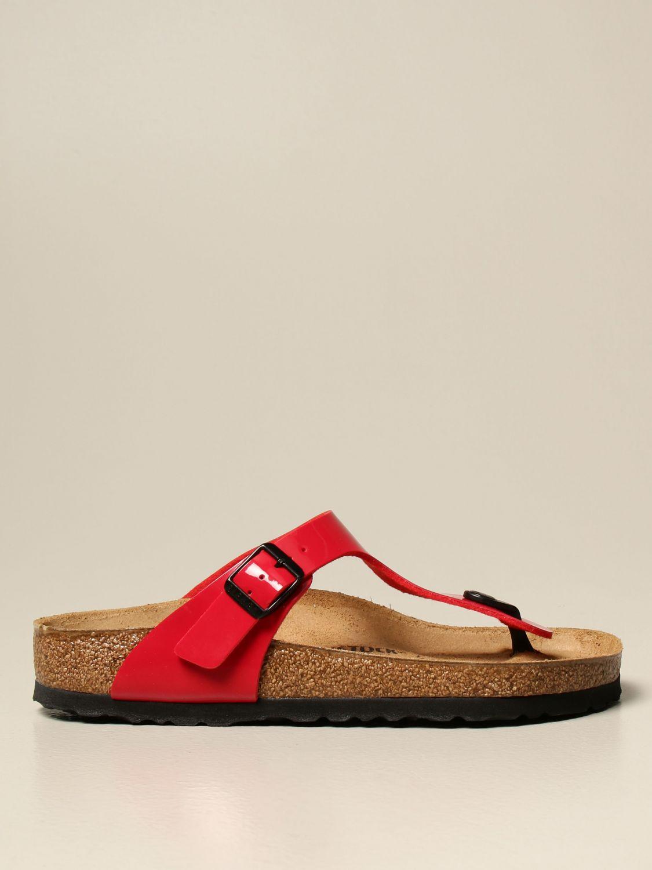 Sandals Birkenstock: Shoes men Birkenstock red 1