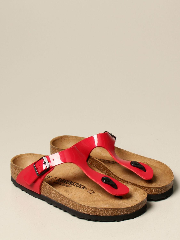 Sandals Birkenstock: Shoes men Birkenstock red 2