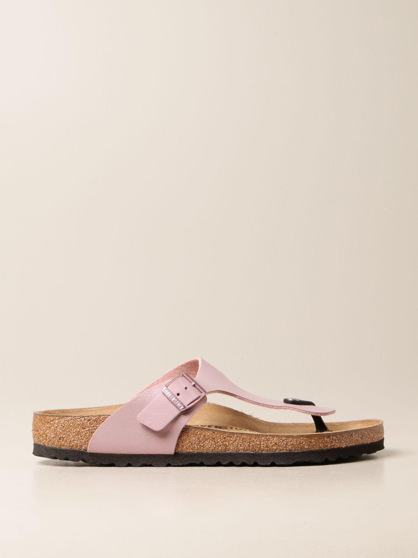 Sandals Birkenstock: Shoes men Birkenstock lilac 1
