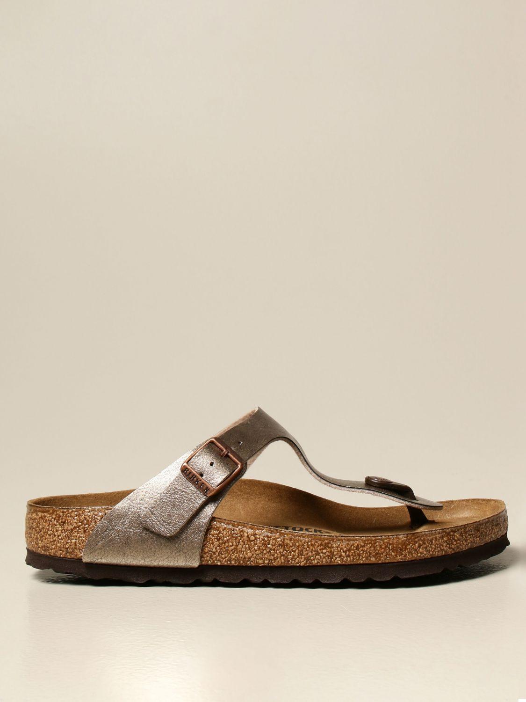 Sandals Birkenstock: Shoes men Birkenstock leather 1