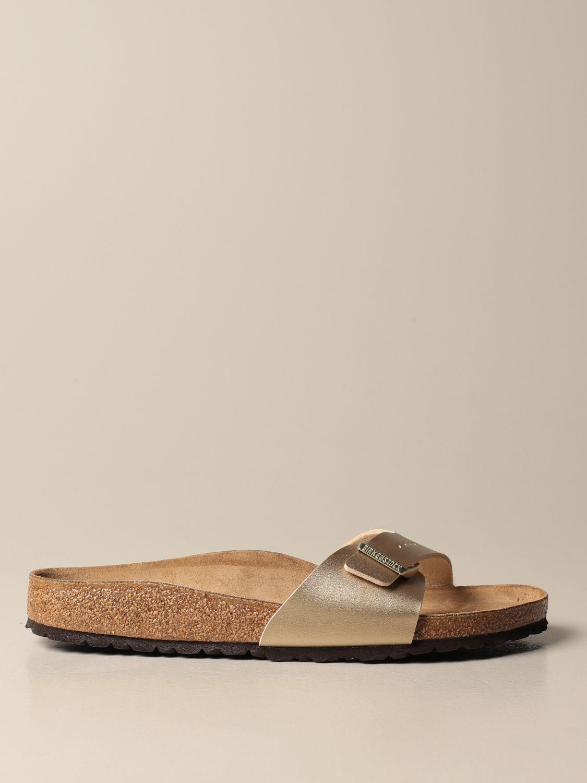 Sandals Birkenstock: Shoes men Birkenstock gold 1