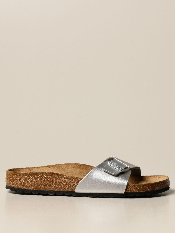 凉鞋 Birkenstock: Madrid Birkenstock 拖鞋凉鞋 银色 1