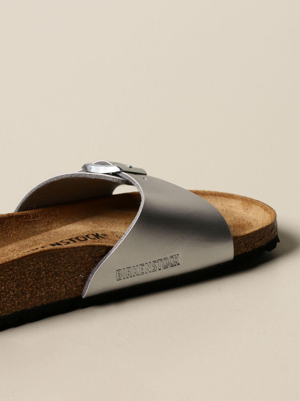凉鞋 Birkenstock: Madrid Birkenstock 拖鞋凉鞋 银色 3