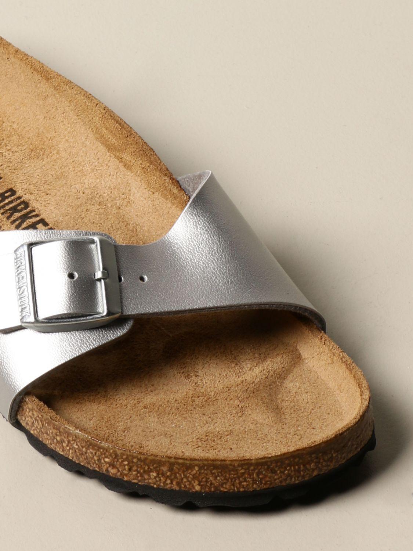 凉鞋 Birkenstock: Madrid Birkenstock 拖鞋凉鞋 银色 4