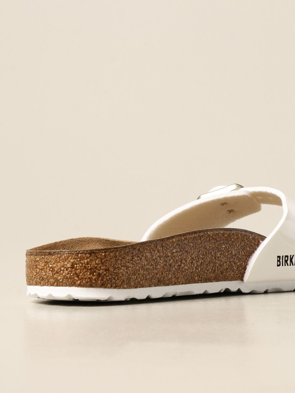 Sandales Birkenstock: Chaussures homme Birkenstock blanc 3