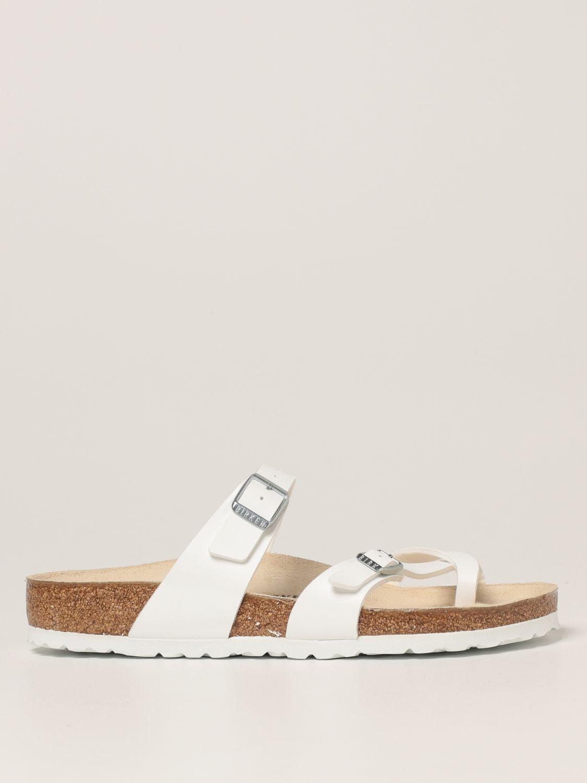 凉鞋 Birkenstock: 鞋 男士 Birkenstock 白色 1
