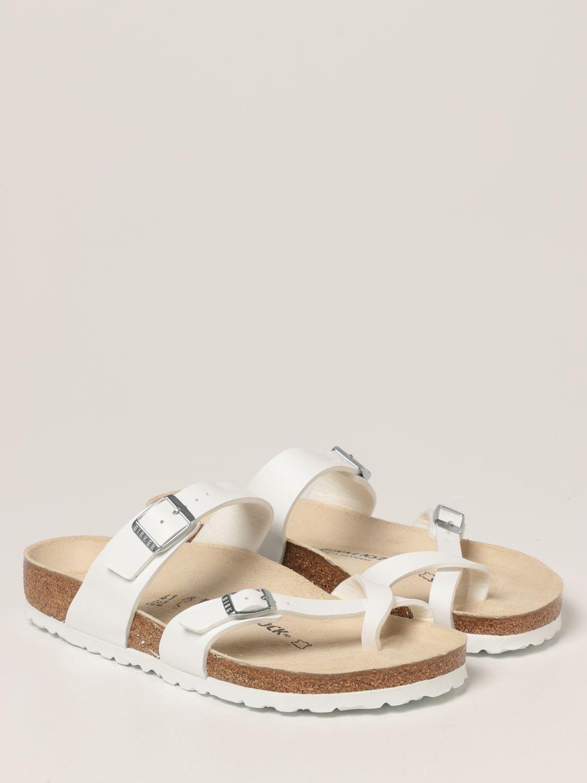 凉鞋 Birkenstock: 鞋 男士 Birkenstock 白色 2