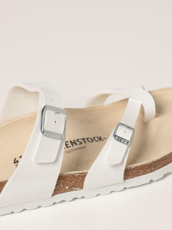 凉鞋 Birkenstock: 鞋 男士 Birkenstock 白色 4