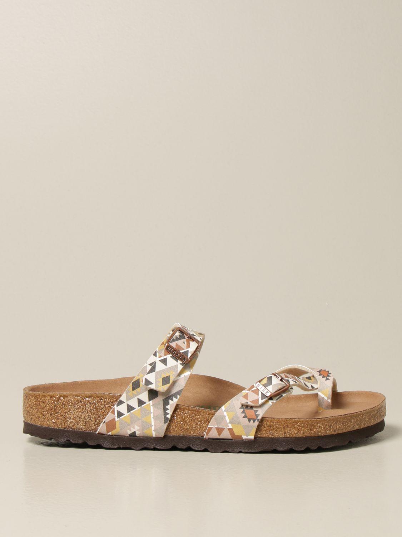 Sandals Birkenstock: Shoes men Birkenstock beige 1