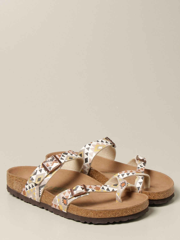 Sandals Birkenstock: Shoes men Birkenstock beige 2