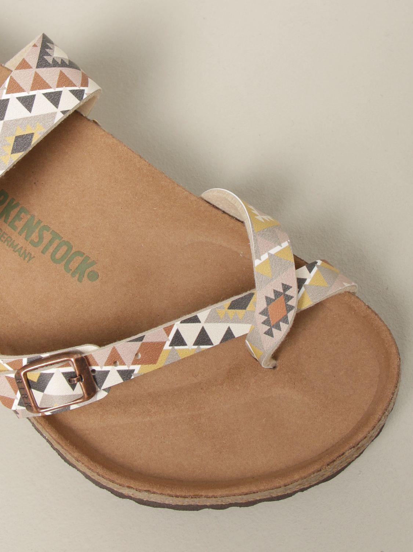 Sandals Birkenstock: Shoes men Birkenstock beige 4