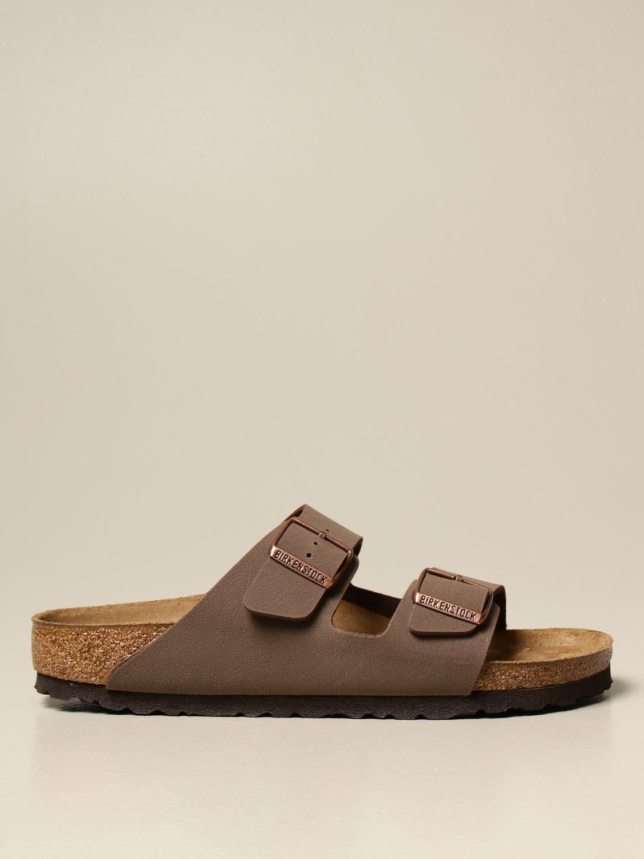Sandals Birkenstock: Shoes men Birkenstock brown 1