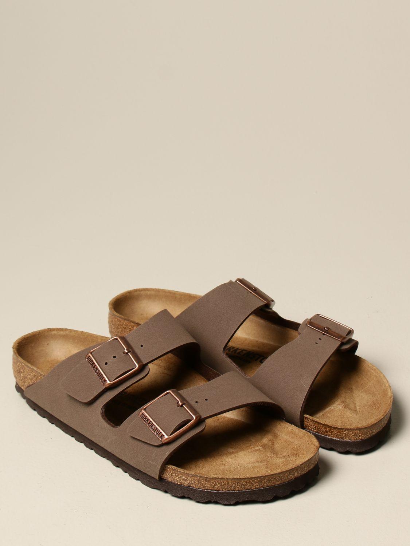 Sandals Birkenstock: Shoes men Birkenstock brown 2