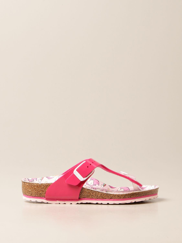 Zapatos Birkenstock: Zapatos niños Birkenstock fucsia 1