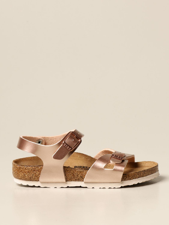 鞋履 Birkenstock: Rio Birkenstock 拖鞋凉鞋 青铜色 1