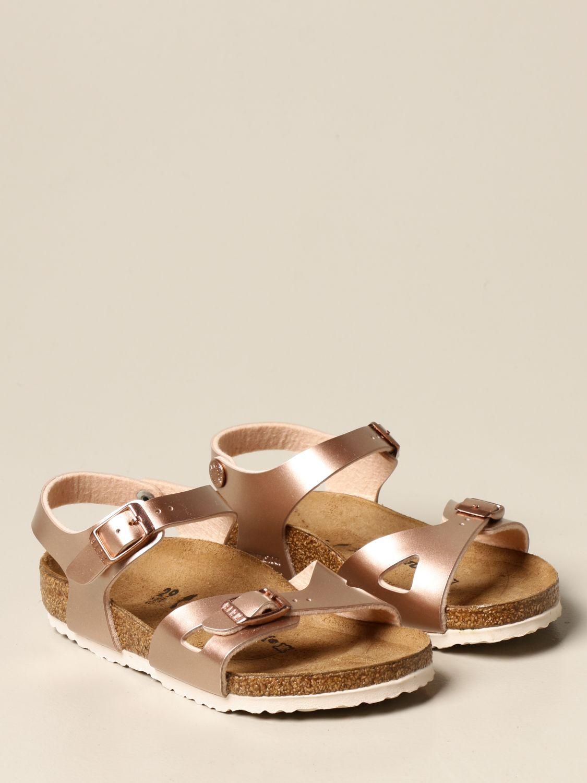 鞋履 Birkenstock: Rio Birkenstock 拖鞋凉鞋 青铜色 2