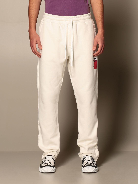 Pantalon Hombre Tommy Hilfiger Pantalon Tommy Hilfiger Hombre Blanco Pantalon Tommy Hilfiger Mw0mw15354 Giglio Es