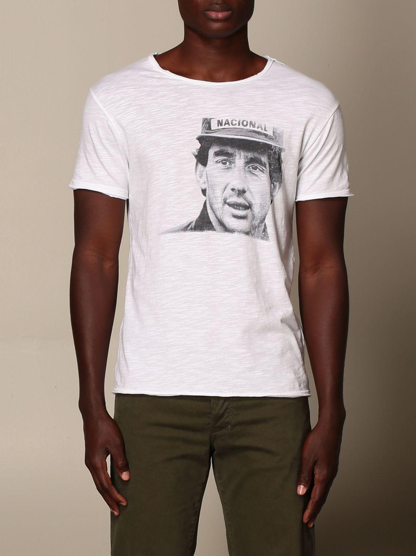 T-shirt 1921: T-shirt homme 1921 blanc 1
