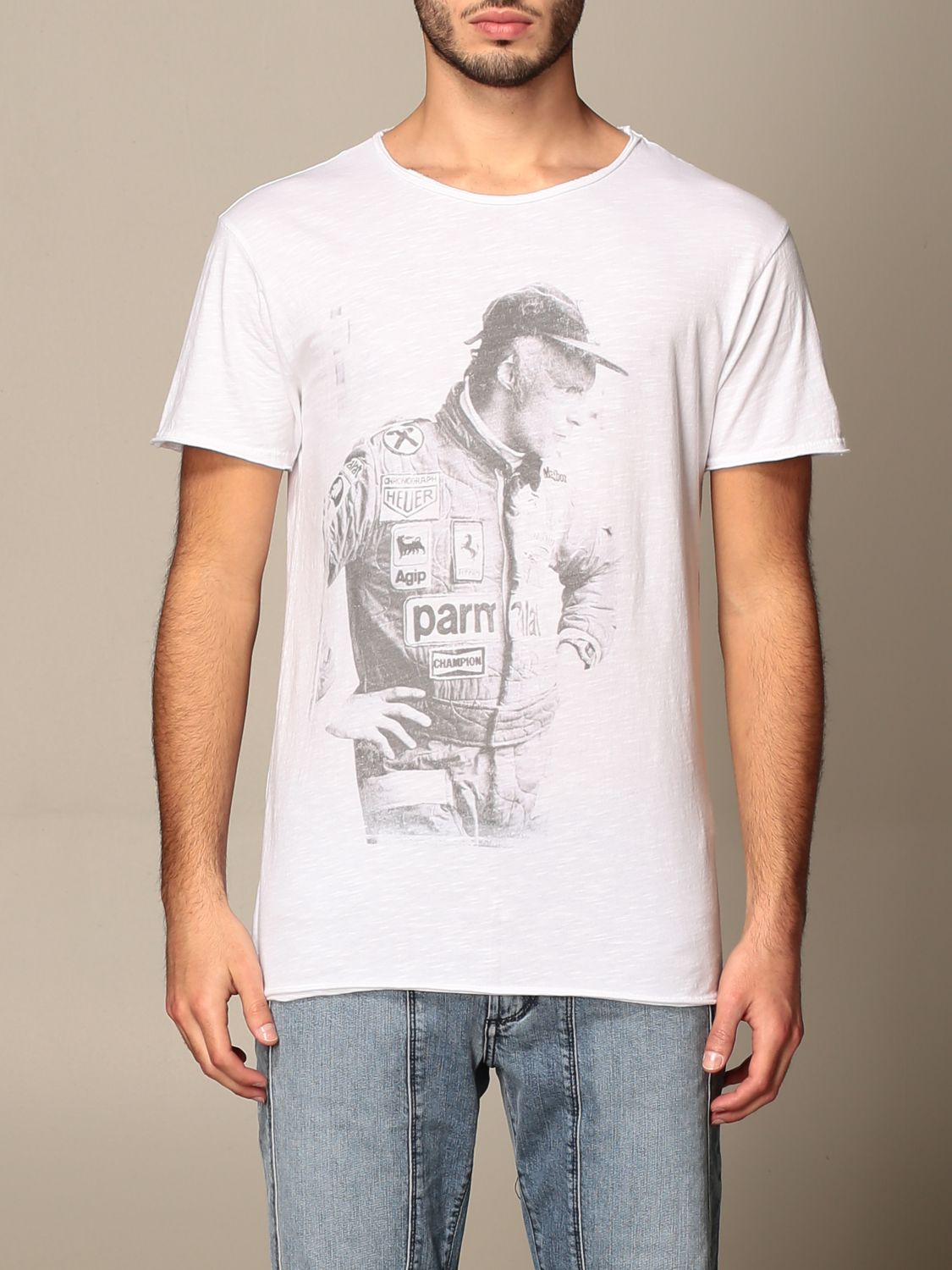 T-shirt 1921: 1921 T-shirt with front print white 1