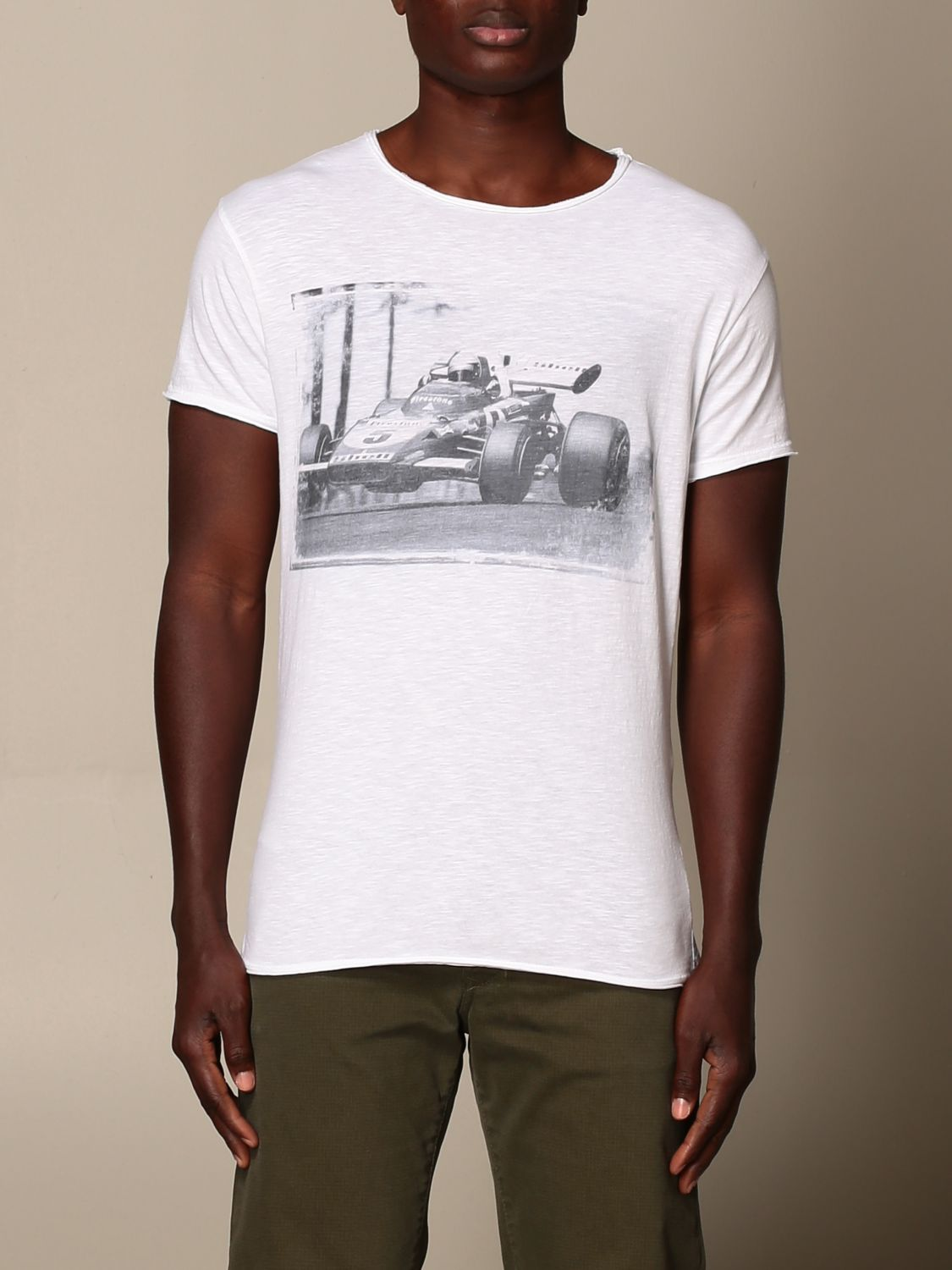 T-shirt 1921: T-shirt 1921 con stampa frontale bianco 1