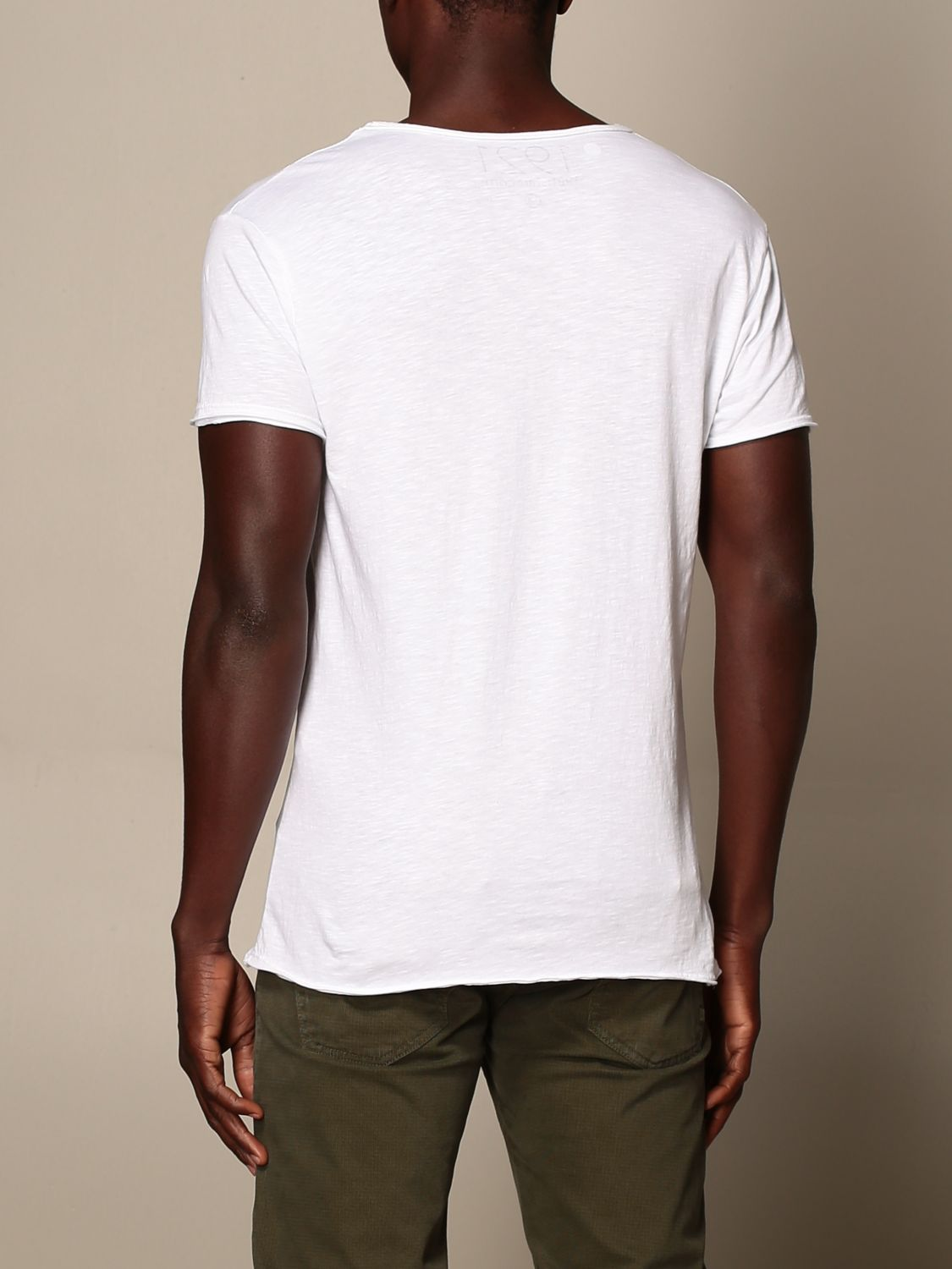T-shirt 1921: T-shirt 1921 con stampa frontale bianco 2