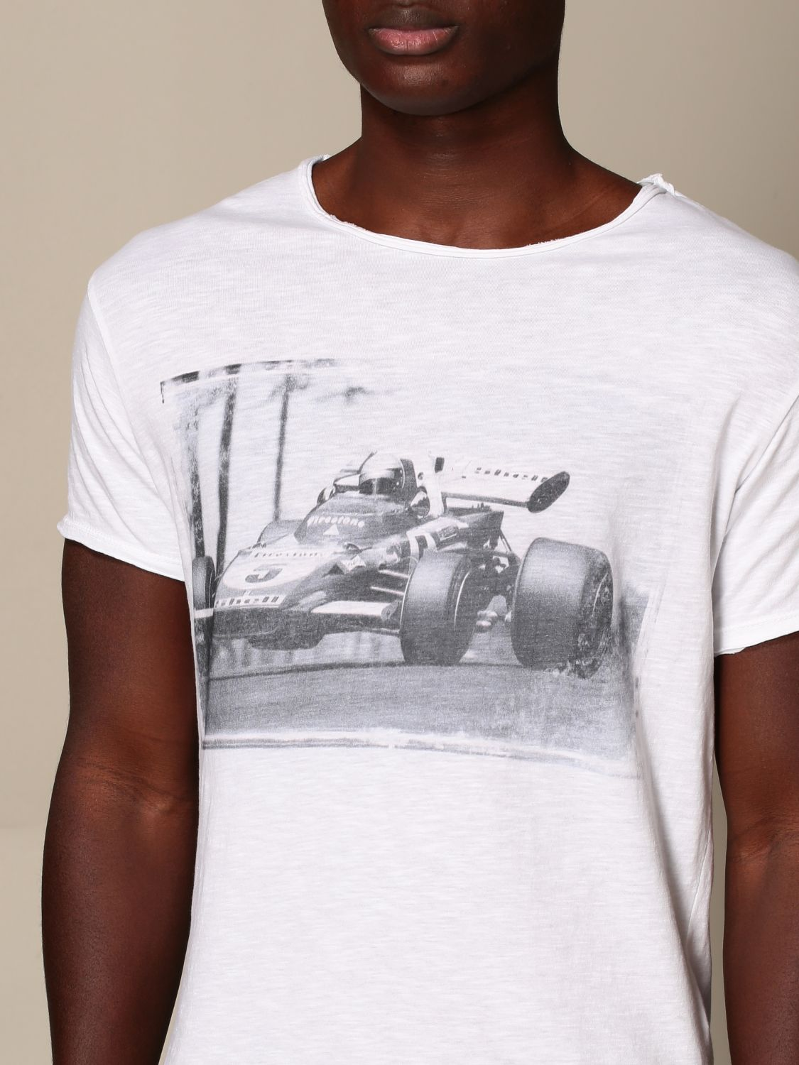 T-shirt 1921: T-shirt 1921 con stampa frontale bianco 3