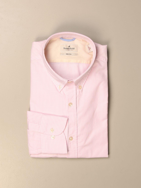 Shirt Brooksfield: Shirt men Brooksfield pink 1