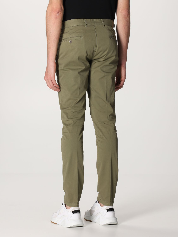 Pantalone Brooksfield: Pantalone Brooksfield in gabardine stretch verde 2