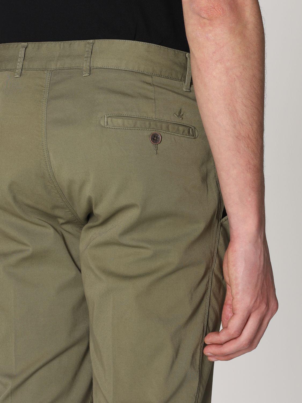 Pantalone Brooksfield: Pantalone Brooksfield in gabardine stretch verde 4
