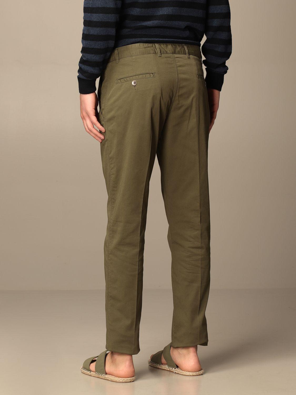 Pantalone Brooksfield: Pantalone Brooksfield in gabardine stretch militare 2