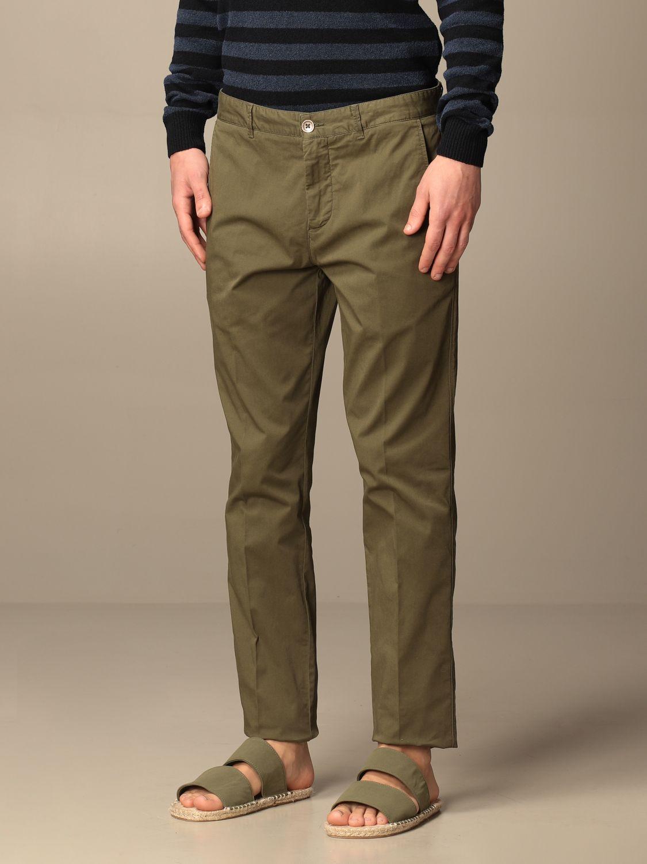Pantalone Brooksfield: Pantalone Brooksfield in gabardine stretch militare 3