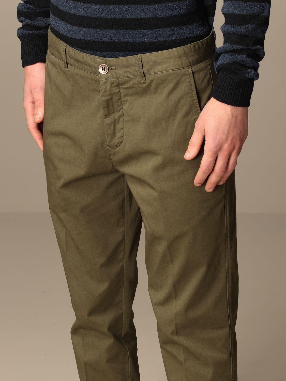 Pantalone Brooksfield: Pantalone Brooksfield in gabardine stretch militare 4