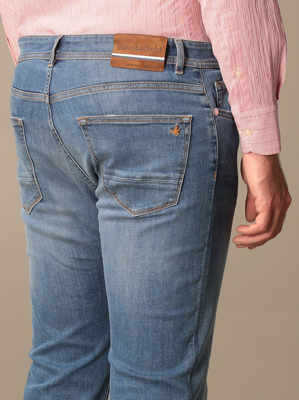 Jeans Brooksfield: Jeans men Brooksfield stone washed 4