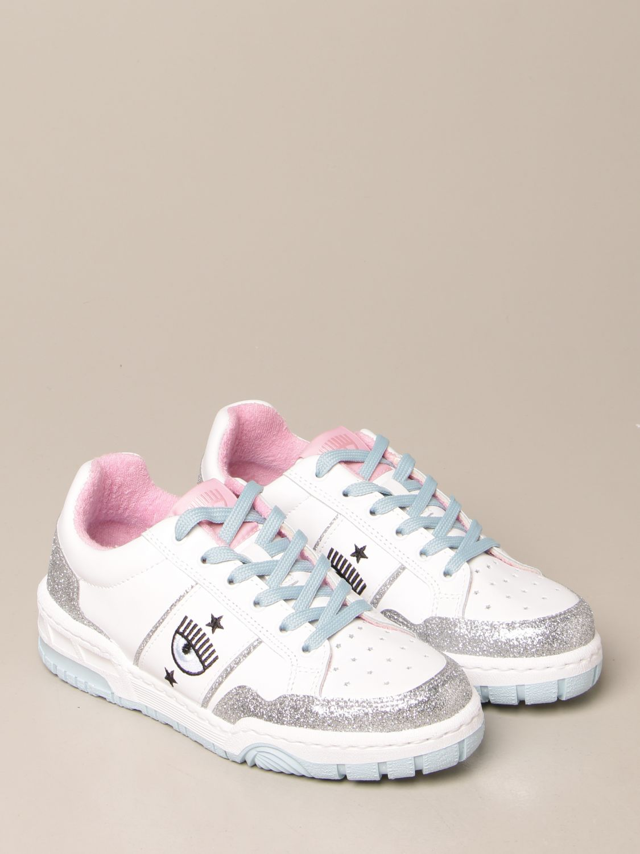 Sneakers Chiara Ferragni: Schuhe damen Chiara Ferragni silber 2